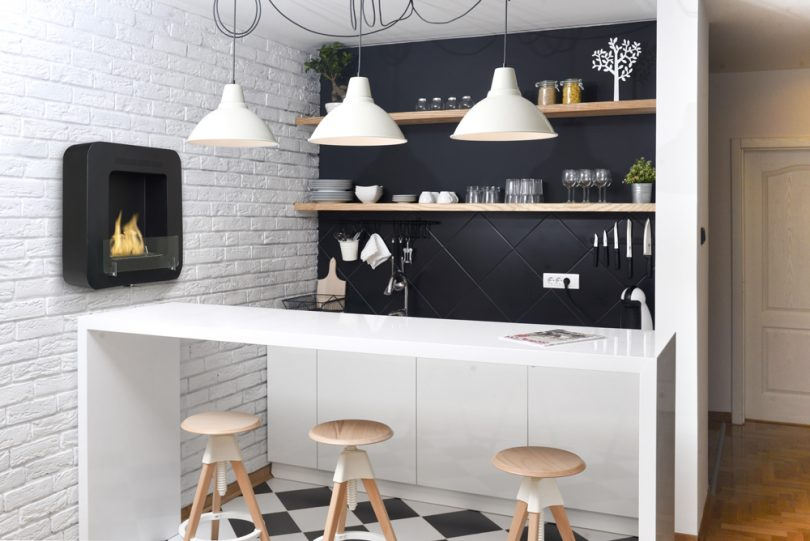 Cosy_Matte_Black_fireplace_bioethanol
